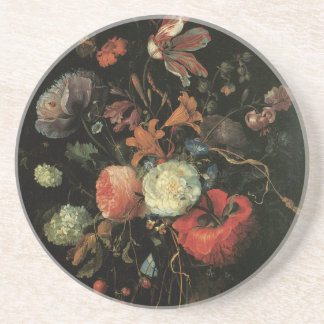 Feine Kunst-mit BlumenUntersetzer Untersetzer