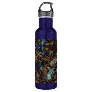 Feine Kunst verlässt große Wasser-Flasche Trinkflasche
