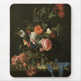 Feine mit Blumenkunst mit Rosen Mousepads