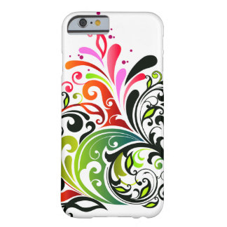 Feine niedliche coole Girly Retro Blumenmode Barely There iPhone 6 Hülle