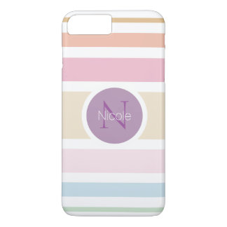 feine Pastellfarben iPhone 8 Plus/7 Plus Hülle