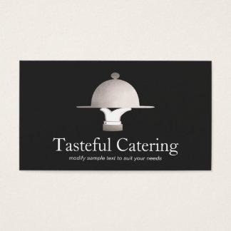 Feiner speisender Restaurant-und Ereignis-Catering Visitenkarte