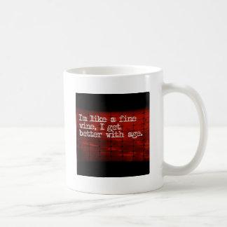 Feiner Wein-Zusätze Kaffeetasse