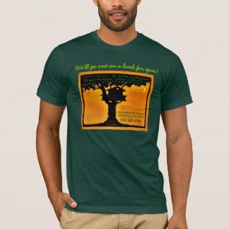 FEINES TREEHOUSE-GEBÄUDE, Rotholz-TempelTreehouse T-Shirt