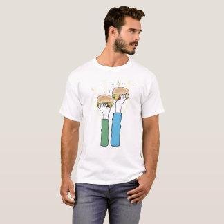 Feinschmecker-Freund-Burger T-Shirt