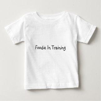 Feinschmecker im Training Baby T-shirt