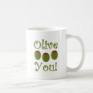 Feinschmecker-Olive Sie Kaffeetasse