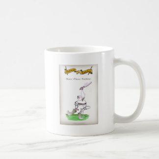 Feinster Puddings Liebe-Yorkshire-Krickets ' Kaffeetasse