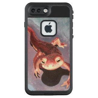 Feiry glatter Salamander LifeProof FRÄ' iPhone 8 Plus/7 Plus Hülle
