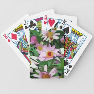 Feld der Blumen Bicycle Spielkarten
