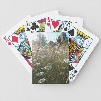 Feld der Gänseblümchen Bicycle Spielkarten