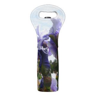 Feld der Iris-Wein-Tasche Weintasche