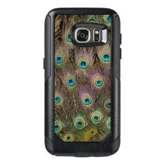 Feld der Pfau-Federn OtterBox Samsung Galaxy S7 Hülle