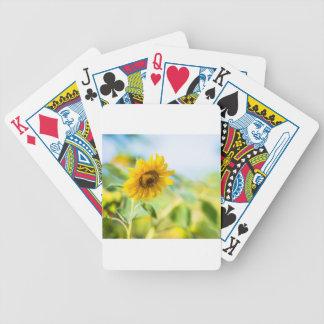 Feld der Sonnenblumen Bicycle Spielkarten