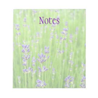 Feld des Lavendels Kladde