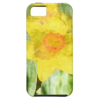 Feld gelben Narzissen Aquarells Schutzhülle Fürs iPhone 5