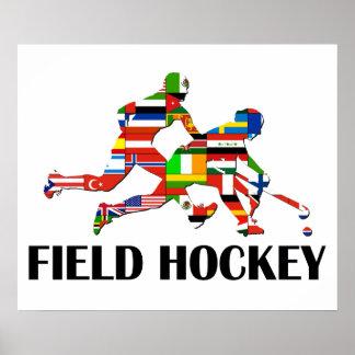 Feld-Hockey Poster
