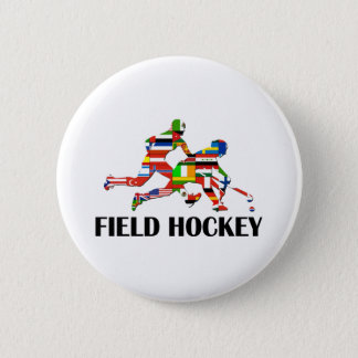 Feld-Hockey Runder Button 5,1 Cm