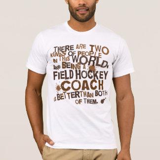 Feld-Hockey-Zug-Geschenk T-Shirt