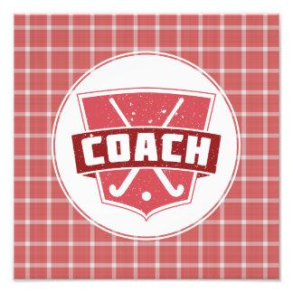 Feld-Hockey-Zug-Schild-Foto-Druck Fotodrucke