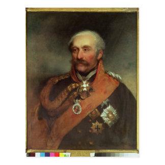 Feld-Marschall-Prinz Von Blucher c.1816 Postkarte