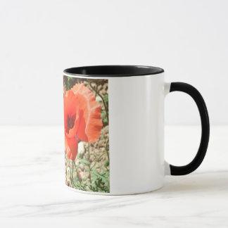 Feld-Mohnblumen Tasse
