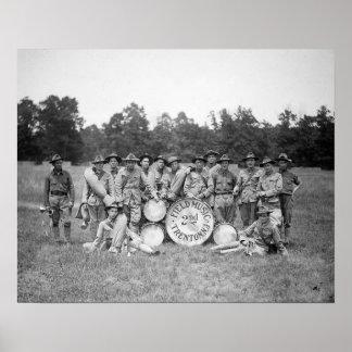 Feld-Musik-Band, 1925 Plakatdruck