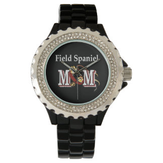 Feld Spaniel-Mammageschenke Armbanduhr