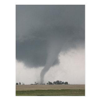 Feld-Tornado Postkarte