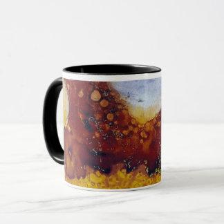 Felder der hellen Kaffee-Tasse Tasse
