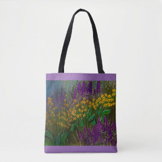 Felder der Lupine-Tasche Tasche