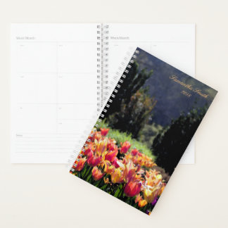 Felder der Tulpen Planer
