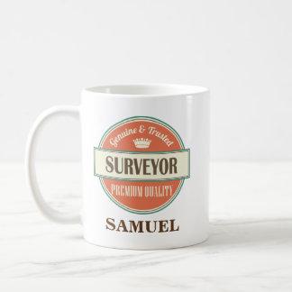 Feldmesser-personalisiertes Büro-Tassen-Geschenk Kaffeetasse
