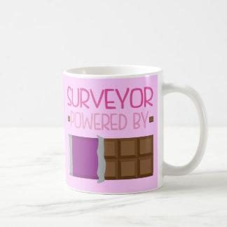 Feldmesser-Schokoladen-Geschenk für sie Kaffeetasse