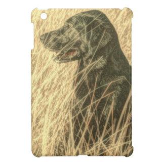 Feldoutdoorsman-Jagd-Hundewelpen-Schwarz-Labrador iPad Mini Hülle