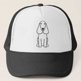 Feldspaniel-HundeCartoon Truckerkappe