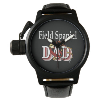 Feldspaniel-Vati-Geschenke Uhr