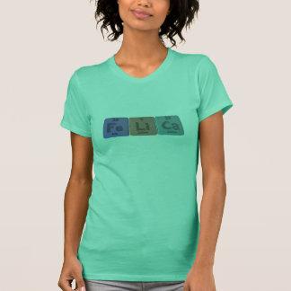 Felica als Eisen-Lithium-Kalzium T-Shirt