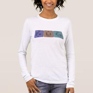 Felice als Eisen-Lithium-Cer Langarm T-Shirt
