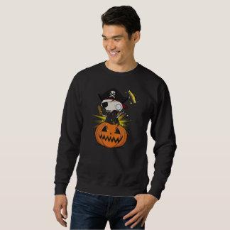 Felipe-Schenkelbein das Skelett in einer Jack O Sweatshirt