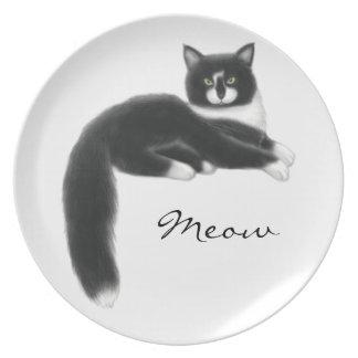 Felix die Smokings-Katzen-Platte Melaminteller