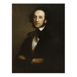 Felix Mendelssohn Postkarte
