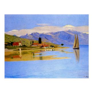 Felix Vallotton - der Hafen des Flaschenzuges Postkarten