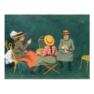 Felix Vallotton - die Frauen Postkarte