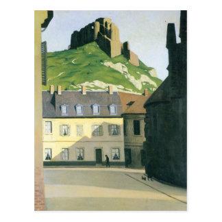 Felix Vallotton - Rathausplatz in Andlys Postkarte