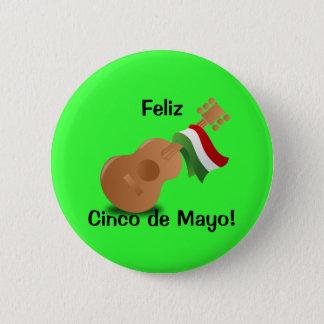 Feliz Cinco De Mayo! Runder Button 5,7 Cm