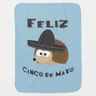 Feliz Cinco Igel Des Mayo Kinderwagendecke