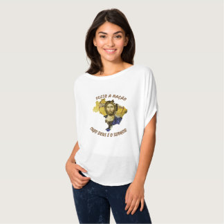 Feliz ein Nação… (Brasilien) T-Shirt