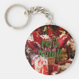 Feliz Geburts-! Frohe Weihnachten im Schlüsselanhänger