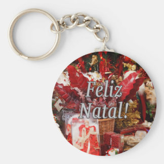 Feliz Geburts-! Frohe Weihnachten im Schlüsselbänder
